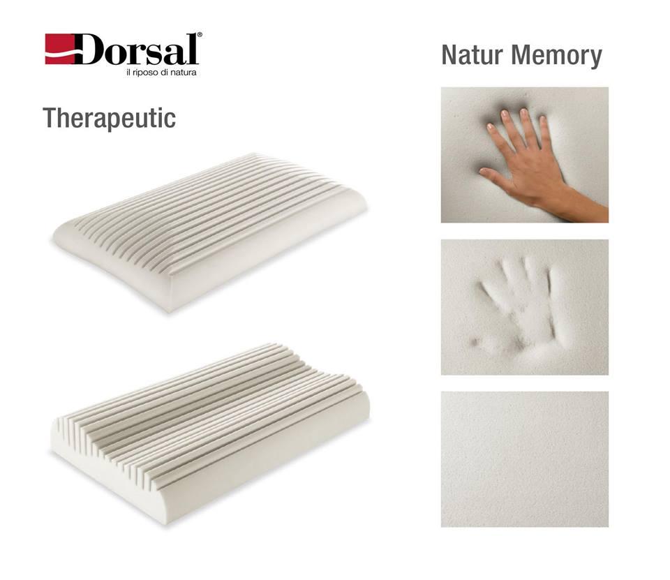 Cuscini Natur Memory Dorsal